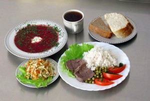 питание здоровой пищей